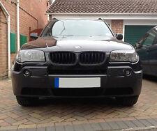 BMW E83 X3 X 3 M Pre-Facelift Matt Black Kidney Euro Sport Front Grill SUV 04-06