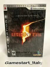 RESIDENT EVIL 5 COLLECTOR'S EDITION - SONY PS3 - NEW SEALED NTSC USA VERSION