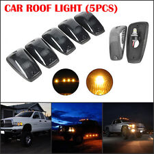 5X Amber Cab Roof Clearance Top Marker Lights Running Lamp For truck Taxi Univer