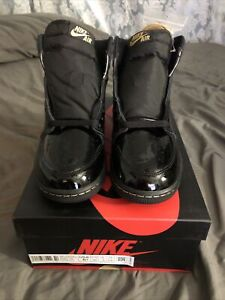 Air Jordan 1 Retro High OG GS Black Metallic Gold Size 5.5Y IN HAND Fast Shippin