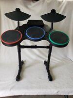 Guitar Hero RedOctane 95481.805 Wireless Drum Set W/ Mic PlayStation 3 NO DONGLE