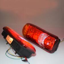 US 2X Universal 24V LED Truck Trailer Stop Tail Reverse Indicator Fog Light Trig