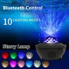 LED Galaxy Projector Light Starry Lamp Star Sky Blueteeth Control USB Light