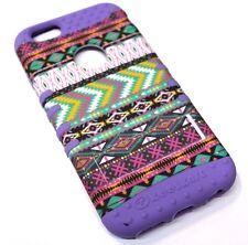 for iPhone 6 6s Tribal Arrow Pink Purple Hard & Soft Hybrid Rubber Koolkase Case
