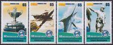 2010.19 SPAIN ANTILLES. MNH 2010 COMPLETE SET ERNEST HEMINGWAY FISHING. TORNEO D