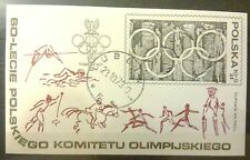 POLAND STAMPS Fibl61 ScB136 Mibl74 block - Polish Olympic Committee, 1979, used