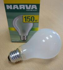 NARVA 150Watt-Birne Glühlampe E27 ◊ MATT ◊ 150W ø65mm NEU & OVP ☼ dimmbar!