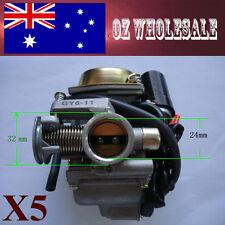 5X 24mm Carburettor Carby GY6 150cc 125cc 250cc BIKE DIRT BUGGY ATV QUAD DUNE