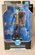 DC MULTIVERSE BATMAN: ARKHAM ASYLUM ACTION FIGURE THE JOKER MCFARLANE TOYS