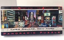 TIMES SQUARE, NEW YORK Buffalo Games Panoramic  750 Piece Puzzle