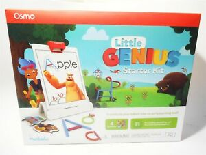 PlayOsmo Little GENIUS Starter For iPad | 4 Learning Games | (includes dock)