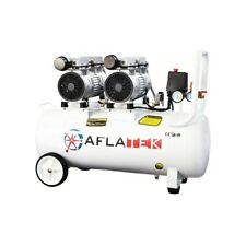 Silent Druckluft Kompressor Flüsterkompressor Ölfrei 1200 Watt 50 Liter Leise