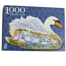 FX Schmid Jigsaw Puzzle Swan Lake Joyce Cleveland 1000 Piece New Sealed