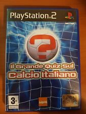 IL GRANDE QUIZ SUL CALCIO ITALIANO - PLAYSTATION 2 PS2 USATO