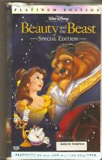Walt Disney Beauty and the Beast (2002) Platinum Edition ~ VHS