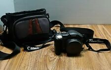Canon Power Shot S31S Digital Camera With Carry Case Zoom Black Body