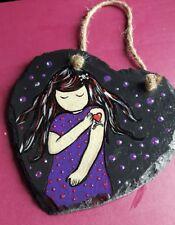 hand painted heart slate tattoo. cute. just gawjuss inspired