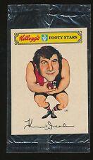 1974 Kelloggs Footy Stars Sticker Kevin Neale St Kilda Mint unopened Rare r