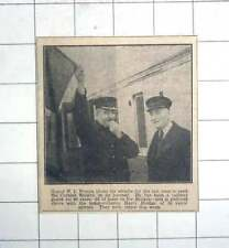 1950 Railway Guard 40 Years Wj Weston Ticket Collector Harry Doidge Cornwall