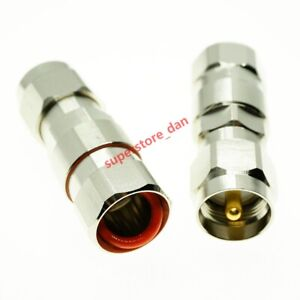 """UHF PL 259 male Connector 1/2"""" for Corrugated copper Standard Andrew Heliax"""