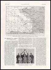 Doc.Ancien Golfe de Gascogne , les sondages du Loiret cartographie 1925
