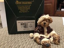Sandy Claus. Have A Simple Christmas by Boyds Bears #228320