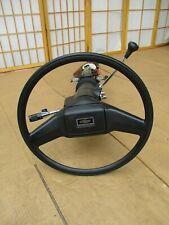 84-91 Chevy GMC Pickup Truck Blazer Suburban OEM Steering Wheel Column w/o TILT