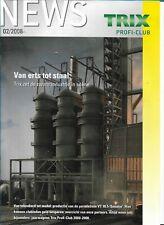Trix News Profi-Club 02/2008 Magazine Nederlands