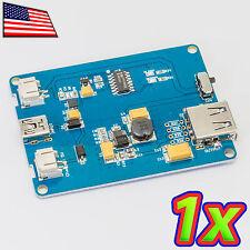 5V Solar LiPo Battery Backup Uninterruptible Arduino Power Supply USB Charger