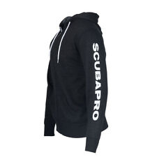 Scubapro Charcoal Gray Zip Up Hoodie LARGE