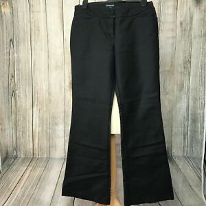 Elegant Black Wide-Leg WAREHOUSE Trousers Size 12