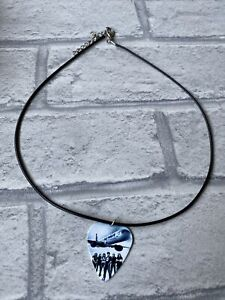 Iron Maiden Neckless With Guitar Pick New Handmade