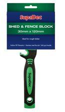 SupaDec Outdoor Exterior Wood Timber Garden Shed & Fence Block Paint Brush