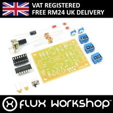ICL8038 Function Signal Generator Kit Unsoldered Sine Square Saw Flux Workshop