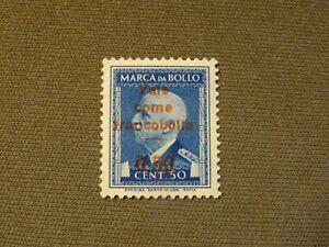 timbres ITALIE  ITALY  ITALIA   neuf*  FISCAL - vale come francobollo neuf**