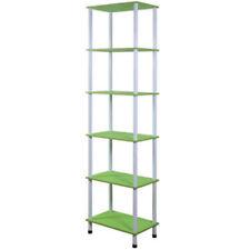 Librerie e scaffali verde per bambini