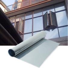 50x100cm Solar Reflective Window Film One Way Mirror Privacy Sun Shade Silver