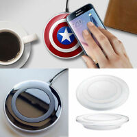 QI Wireless Charger Charging Pad S6 S6+ S7 Edge S8 S9 S9+ For Samsung Galaxy