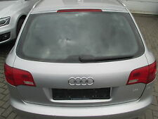 Heckklappe Audi A6 4F Avant lichtsilber LY7W Klappe silber
