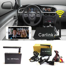 Black Car WiFi Display System Mirror Link Box Miracasst USB DLNA For Android IOS