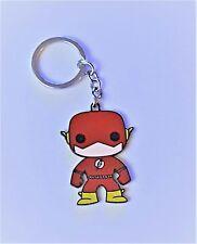 "DC Comics: ""The Flash"" Character Figure 2 1/2"" Tall Metal Enamel Key-chain"