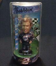 """Rusty Wallace NASCAR 2 Bobble Dobble Bobblehead 2002 Edition Sealed 7""""     1139"""