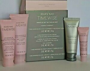 "Mary Kay TimeWise Miracle Set 3D ""The Go Set"" ~ Normal to Dry Skin. FRESH"