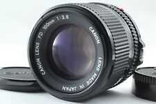 **EXC+++++** Canon New FD NFD 100mm f/2.8 MF Telephoto Lens F/S from Japan #068