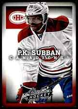 2013-14 Panini Absolute Hockey P.K. Subban #8