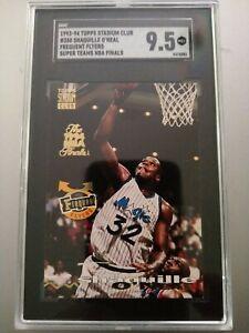 Shaquille O'Neal Orlando Magic 93-94 Topps Stadium Club #358 The 1994 NBA Finals