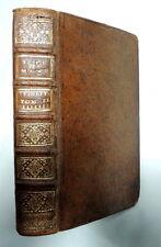 Les Avantures De Telmaque Fils D'Ulysse Tome Second 1740 Leather Bound