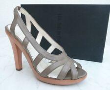 Jil Sander Gr 39 Plateau Sandaletten High Heels Schuhe Shoes fango neu  UVP 550€