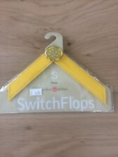 Lindsay Phillips Switch Flops Strap Dawn Yellow Patent Size S UK 2,3