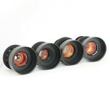 Amber Set 37 58 85 135 Anamorphic flare & bokeh cine mod Canon EF, Sony E, M4/3